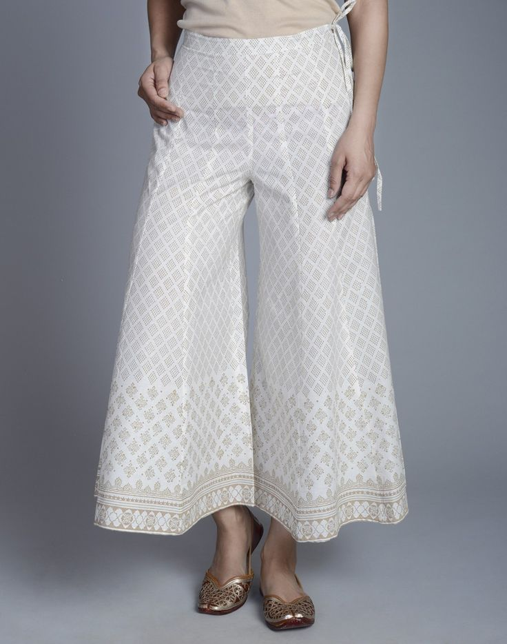 Fabindia.com | Cotton Gold Khari Sharara