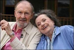 Riachard Bull and Katherine MacGregor (Mr. and Mrs. Oleson)
