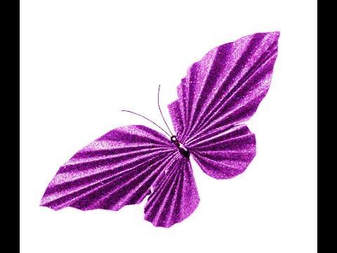 Awesome Paper Butterfly. Easy to do. Room decoration. Valentine's ideas - YouTube