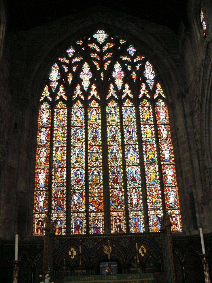 The Jesse Window c 1340 St Mary's Church