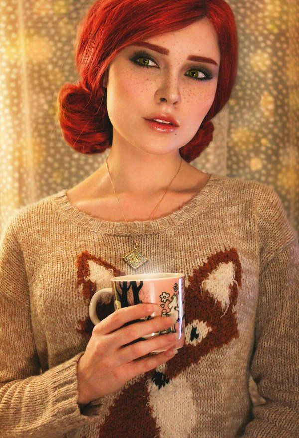 New Year Triss Merigold by Sladkoslava  by Sladkoslava.deviantart.com on @DeviantArt