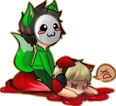 [Fanart] Youtubers PewDiePie & Cryaotic (Cry) play Bloody Trapland