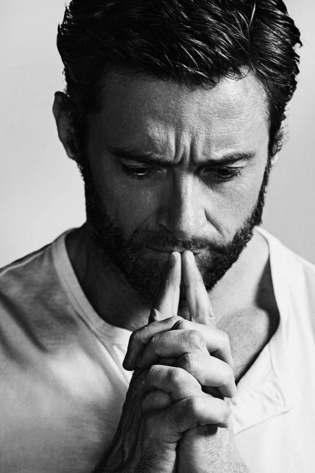 "Hugh Jackman //  ""Acting is something I love. It's a great craft that I have a lot of respect for. But I don't think it's any greater challenge than teaching 8-year-olds or any other career. In my life, I try not to make it more important than it is and I just hope that rubs off on the people around me."""