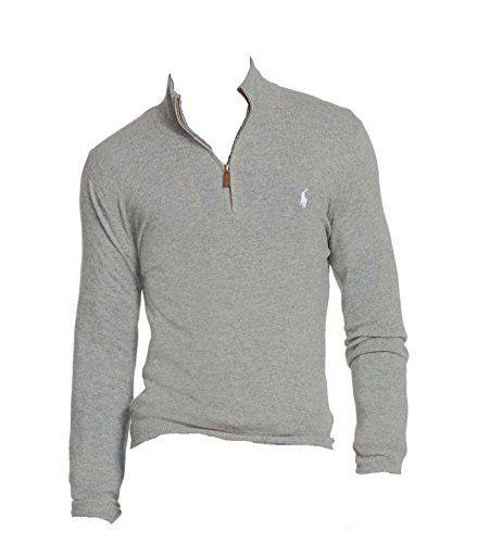 POLO RALPH LAUREN Polo Ralph Lauren Men'S French Rib Half Zip Pullover. #poloralphlauren #cloth #
