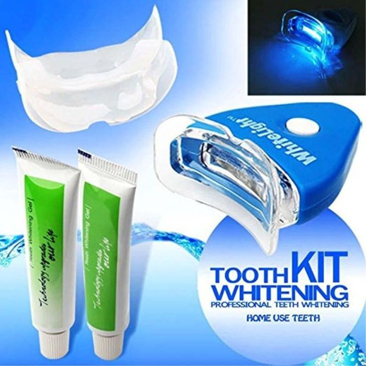 White Light Tooth Whitening