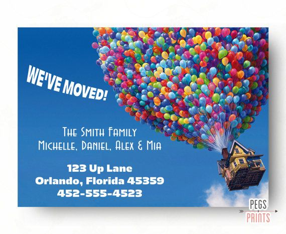 Moving Announcement PRINTABLE - We've Moved Cards - New Home Announcement - New Address Cards - New Address Announcement - New House Card