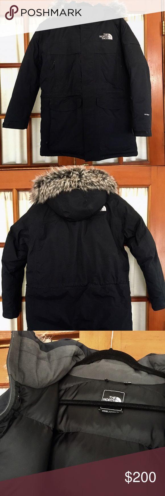 Men's North face parka coat Men's-medium-black-Excellent condition-like new with no wear- North Face Jackets & Coats
