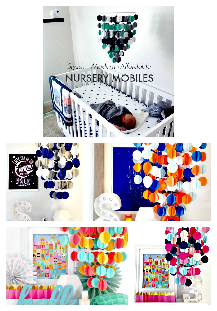 It's official! Baby is coming and it's time to decorate the nursery; a space where you and your little one will spend lots of time together. Add a modern, playful touch with one of our pre-made or custom made baby mobiles and enjoy 20% off and free domestic shipping on your order with code baby20. At Merkai and Company we offer a wide selection of colors and patterns for a fresh aesthetic that can be daring and bold or subtle and sweet.
