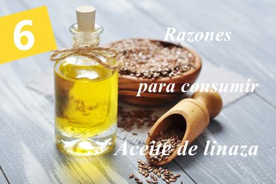 6 beneficios poderosos del aceite de linaza