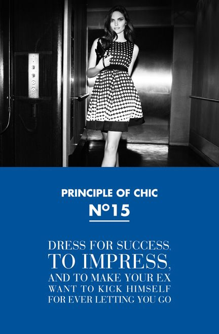 Principle of chic number 15