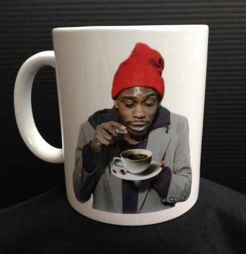 TYRONE BIGGUMS - 11 oz Ceramic Coffee Cup Mug DAVE CHAPPELLE'S SHOW Crack Funny!
