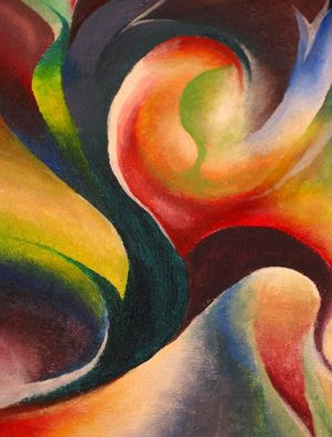 Abstract Art | Oil Painting Art: Abstract Painting The Beauty of it
