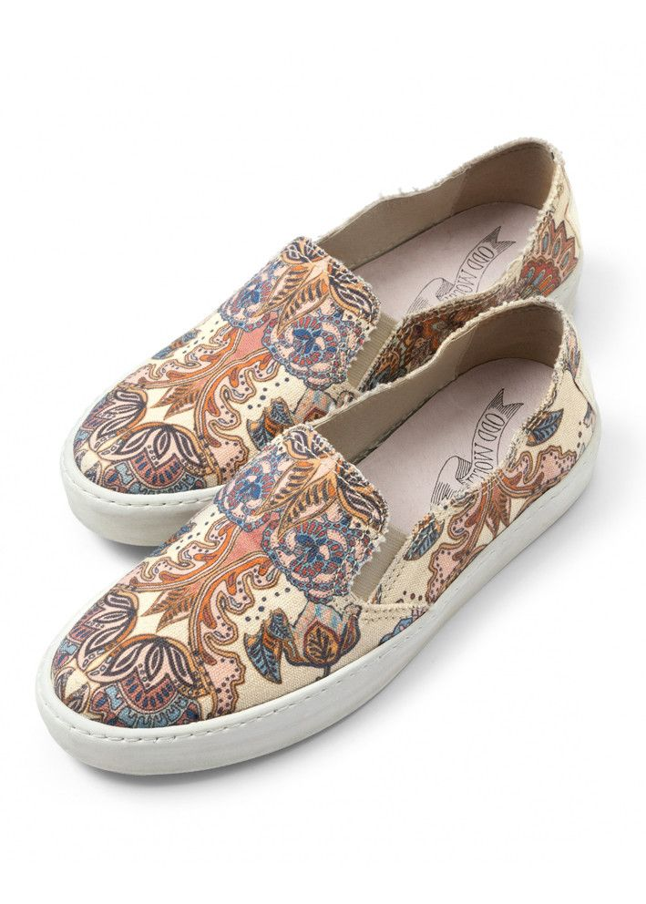 Odd Molly Sneakers - Walkabout slip-in Sneakers 616M-897 light porcelain – Acorns