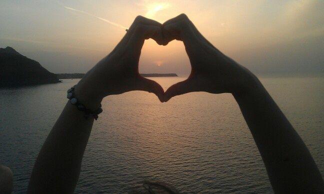 Summer love in #Santorini