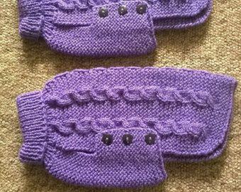 Venta-tejido a mano perro suéter/dess por PollyandMolly en Etsy