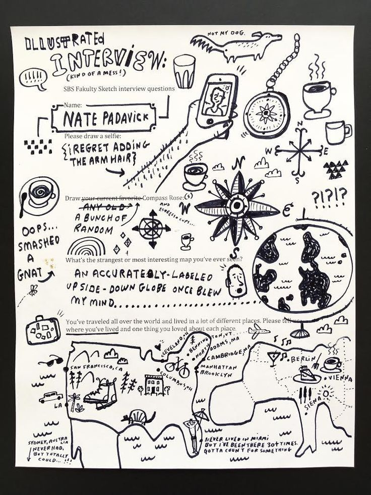 Fakulty Sketch Interview: Nate Padavick, Let's Make A Map | Sketchbook Skool Blog