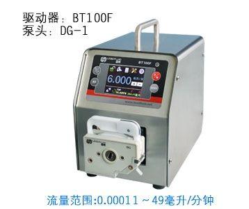 680.00$  Buy now - http://aliv95.worldwells.pw/go.php?t=32278202376 - BT100F DG6-1  Intelligent Dispensing Dosing Filling Peristaltic Pump industry lab Tubing Pumps Precise  0.00016-26 ml/min