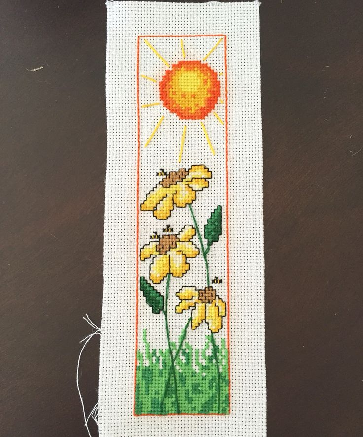 Sunflower Bookmark