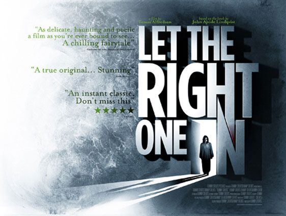 Let the Right One In, movie poster