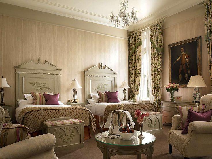 Bedroom In Dromoland Castle.