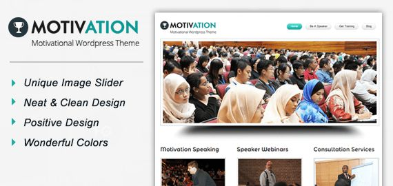 Motivation WordPress Theme