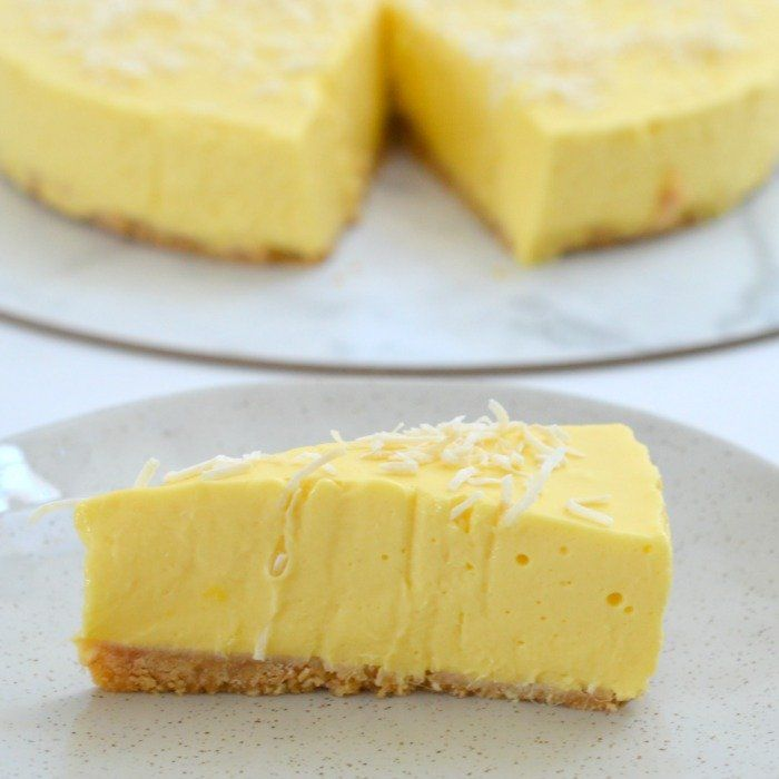 Our Thermomix Mango Cheesecake is the ultimate no bake dessert to make in your Thermomix. It's jam packed with mangoes and while it's great on it's own you can also add some toasted coconut flakes or macadamias to make it extra special. This Thermomix no bake Mango Cheesecake is guaranteed to impress your friends!
