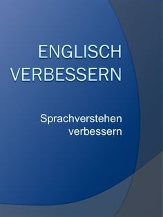 Improve English, strengthen your language skills