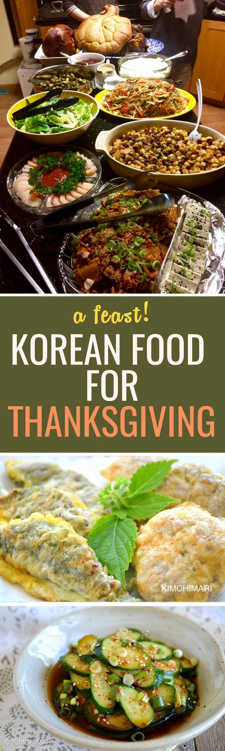 How to spend Thanksgiving, or any holiday with a Korean twist :)