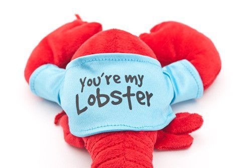 """You're My Lobster"" Plush (Blue T-Shirt) – Inspired by the Friends TV Show"