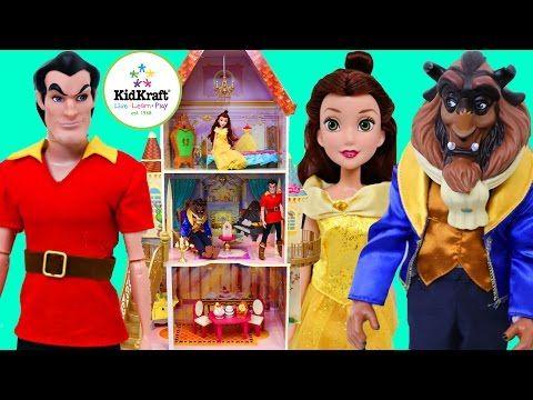 BEAUTY AND THE BEAST DOLLHOUSE New Belle Disney Princess Castle Wooden KidKraft Dollhouse - http://beauty.positivelifemagazine.com/beauty-and-the-beast-dollhouse-new-belle-disney-princess-castle-wooden-kidkraft-dollhouse/ http://img.youtube.com/vi/J-KbssNpN1A/0.jpg