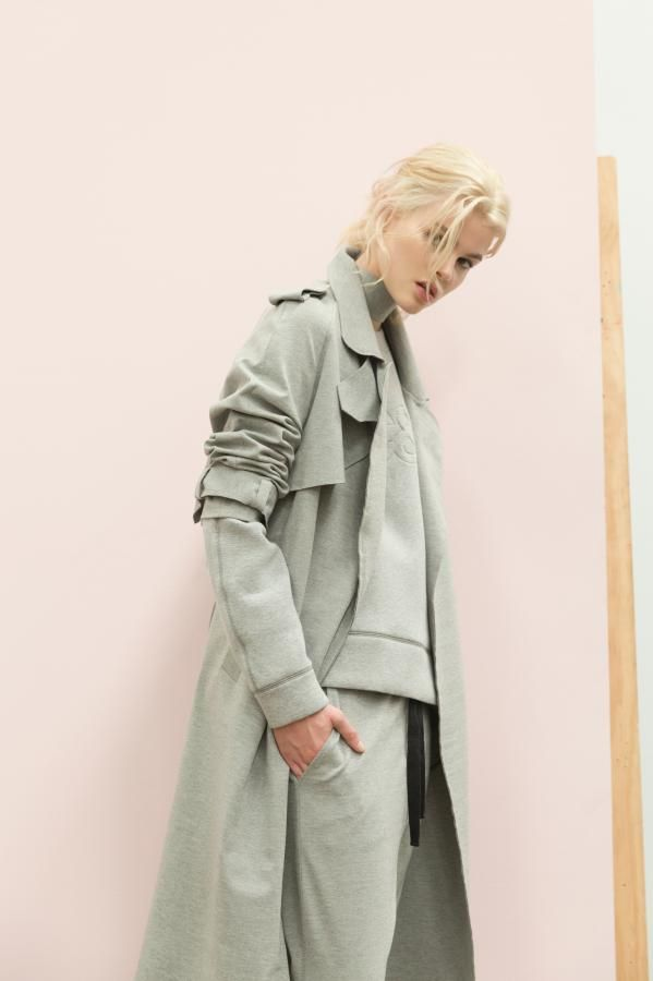 The Perry Bonded Trench and Perry Bonded Panel Jumper by C&M CAMILLA AND MARC