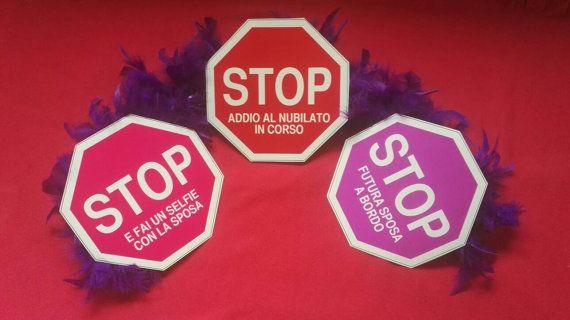Stop  Photo Booth per Addio Al Nubilato di 5iGiochi su Etsy