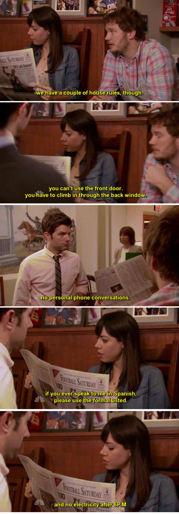 "When she made the most reasonable house rules: | 22 Times April Ludgate From ""Parks and Rec"" Was Relatable AF"