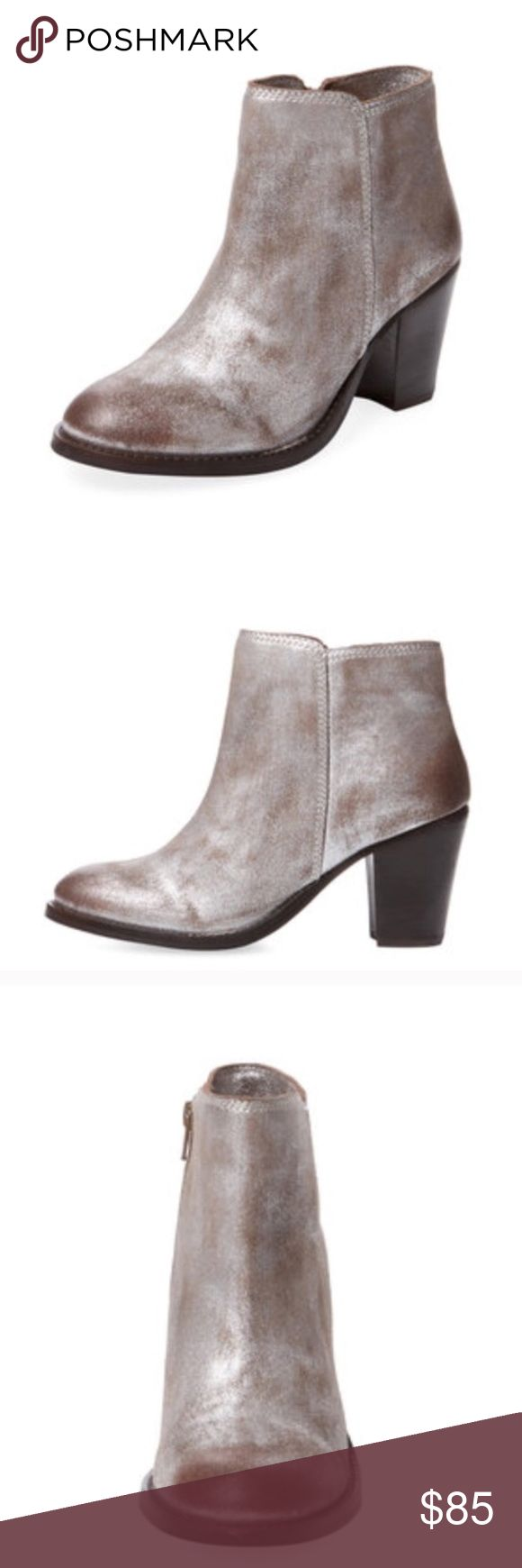 Seychelles Resolution Pewter Silver Ankle Boot In excellent condition! Pictures coming soon. They are prettier in person. Size 7.5 Seychelles Shoes Ankle Boots & Booties
