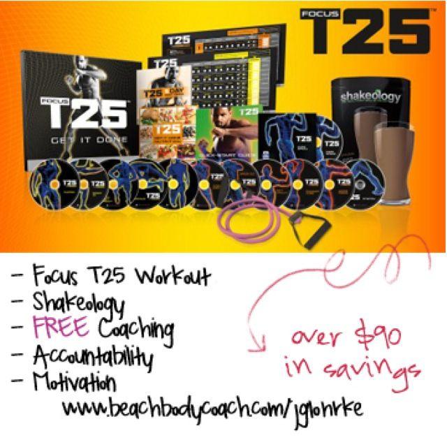 Focus T25...my newest craze!!