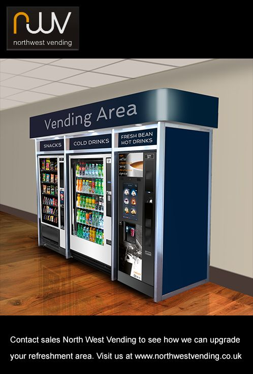 Contact sales North West Vending to discuss how we can upgrade your refreshment area. @northwestvending