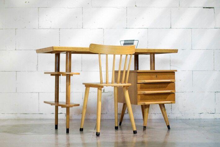 Retro vintage desk