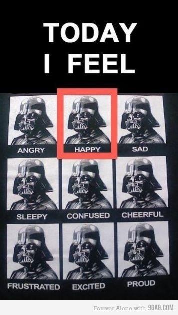 Vader mood chart