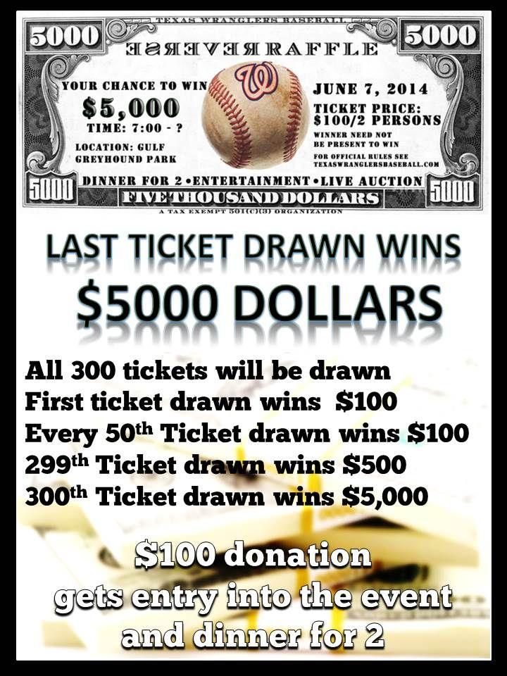reverse raffle flyer 1 wolf creek ideas pinterest fundraising