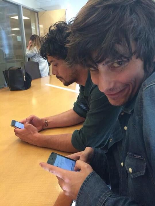Bob Morley  Devon Bostick #The100 / this picture is lovely Bob Morley looking all kinds of fine