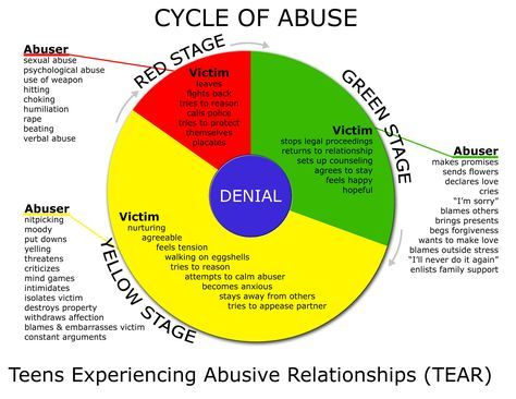 T.E.A.R - Teens Experiencing Abusive Relationships