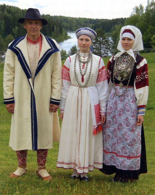 Costume and Embroidery of the Seto, Estonia.