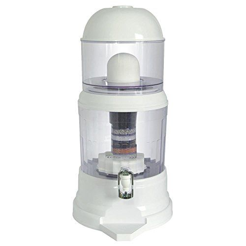 NutriChef Countertop Water Filter Dispenser Best Offer. Best price  NutriChef Countertop Water Filter Dispenser Feature: 5 STAGE WATER FILTRATION: Hydrate without the dangers! This counter water framework channels, r