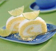Recette - Biscuit roulé à la crème de citron - Proposée par 750 grammes