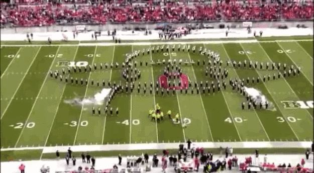 …and this spaceship…   This Is Why Ohio State University's Marching Band Is Actually The Best Damn Band In The Land