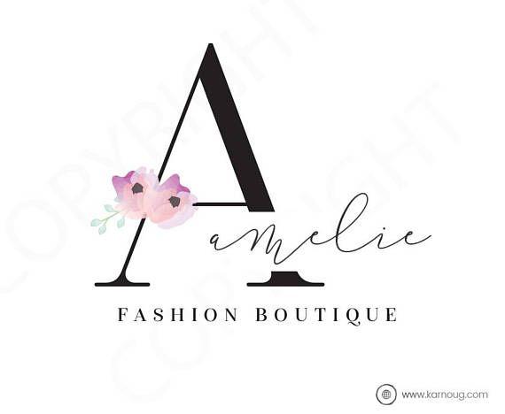 Fashion Boutique Logo Photography Lifestyle Logo Premade Logo Watermark Logo Business Logo Branding Logo Custom Logo Logos and Watermarks