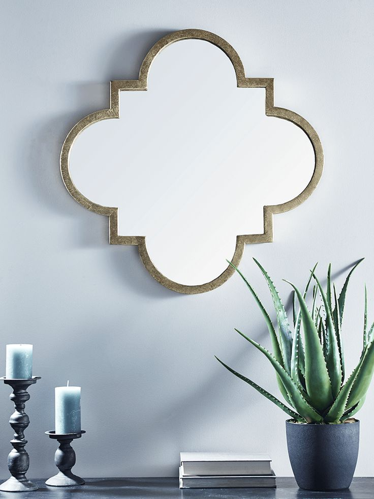 With a fabulous, rustic brass finish and simple, Maroq inspired shape, our large statement mirror will add warmth and light to your room. Perfectly elegant, it will add an edge to a neutral living space and sits beautifully with a Scandi style interior.