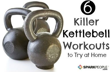 6 Kettlebell Workout Routines To Try At Home