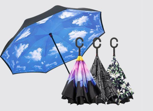 逆転の発想。上下逆さまに開く傘「Suprella」が、ちょっと欲しくなるワケ。 - ライブドアニュース