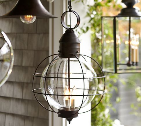 Rustic Fisherman pendants from Potterybarn.